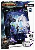 Nathan- Puzzle 150 pièces Les héros réunis Dragons 3 Enfant, 4005556868483
