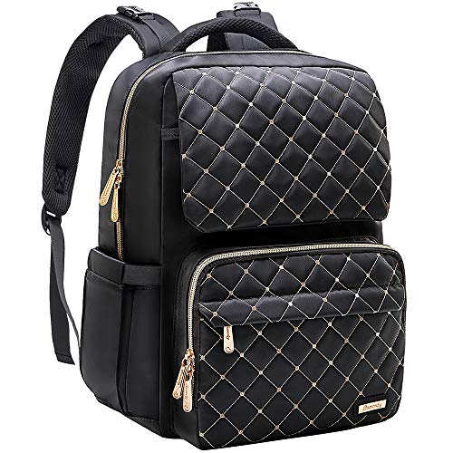 Diaper Bag Backpack, Bamomby Multi-Function Waterproof Large Travel Backpack Nappy Bags for Mom,Dad with Changing Pad, Newborn Diapers Registry Baby Shower Gifts for Boys,Girls-Black