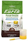 HARRIS Diatomaceous Earth Food Grade, 10lb with Powder Duster Included in The Bag