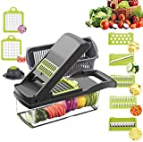 Vegetable Chopper Slicer, Food Chopper D L D Onion Dicer Veggie Slicer Cutter...