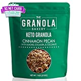 Granola Bakery Keto Granola | 1g Net Carb, Low Carb Keto Snack | Low Sugar Keto Cereal | Ketogenic Breakfast Nut Snack | Diabetic Keto Friendly | Small Batch, Hand Crafted | Cinnamon Pecan, 11 Ounces