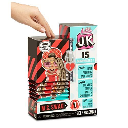 Image 2 - LOL Surprise Mini Poupées Mannequin JK - 15 Surprises, Vêtements et Accessoires - À Collectionner - M.C. Swag