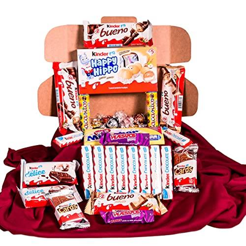 Caja regalo de bombones y chocolates - Kinder Bueno, Kinder