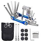 Oziral Trousse d'outils de vélo Outil de vélo Multifonction 11...