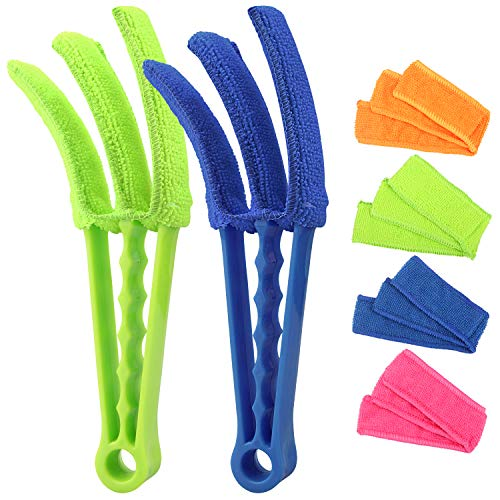 RUIMAICAN Window Blind Cleaner Duster Brush Kit 2 Pack Brush...