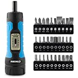 """NEIKO 10574A 1/4"""" Drive Torque Wrench Screwdriver Set 