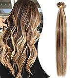 Extension Cheveux Naturel Keratine 1g Rajout Pose a Chaud - Pre Bonded U...