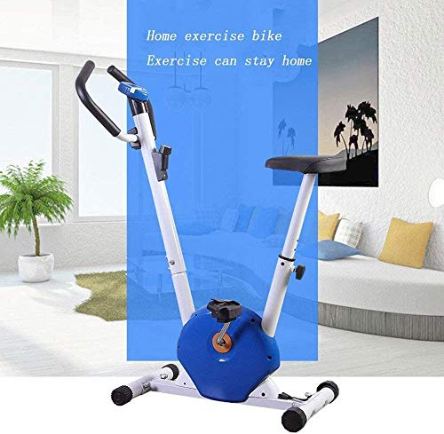 YFFSS Exercise Bikes, Foldable Exercise Bike, Home Ultra-Quiet Indoor Exercise Pedal Exercise Bike, Weight Loss Fitness Equipment with LCD Display 6