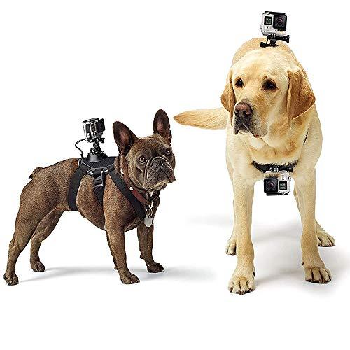 Brandless Cinturino pettorale per Cani, la Action Camera Ottiene Una Vite Regolabile sul Retro della Cintura, Adatta a Tutti i Modelli Gopro Hero.