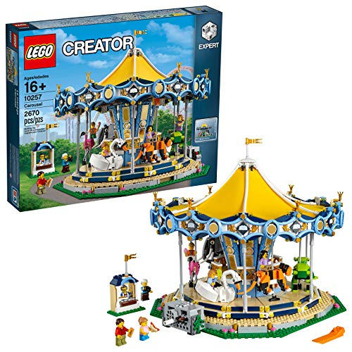 LEGO Creator Expert Carousel 10257 Building Kit (2670 Pieces)