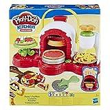 Hasbro Play-Doh - La Pizzeria, Play Set con 5 Vasetti di Pasta da Modellare, Multicolore, E4576EU4