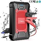 YABER Booster Batterie, 800A 12000mAh IP66 Étanche Booster de Batterie Voiture...