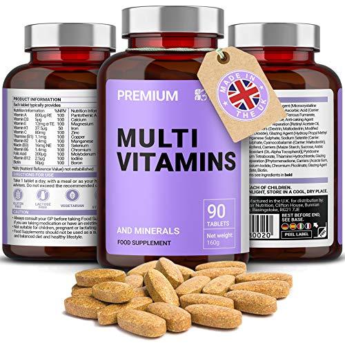 Multivitaminas completas | Multivitaminas, Zinc, Hierro y Ma