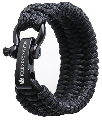 The Friendly Swede Bracelet de Survie Trilobite en Paracorde avec Maillon...