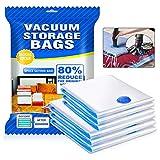 otumixx Sac de Rangement sous Vide 6 Packs ( 3*80x100cm & 3*60x80cm ) Housse de...