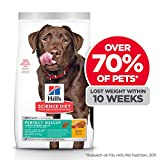 Hill's Science Diet Adult Perfect Weight for Weight Management, Large Breed Dry Dog Food, Chicken Recipe, 28.5 lb Bag, White