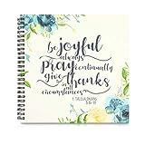 Prayer Journal, Spiral Notebook (8.8 x 8.5 Inches)