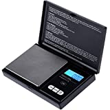 Zacro Balance digitale de poche 1000g x 0.1g, Balance de Cuisine, Balances...