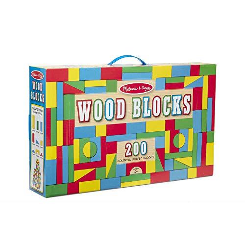 Melissa & Doug 200 Wood Block Set