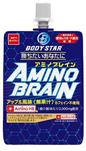 【Amazon.co.jp限定】 おやつカンパニー Body Star Amino Brain 180g ×6個