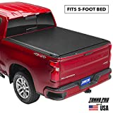 Tonno Pro Lo Roll, Soft Roll-up Truck Bed Tonneau Cover   LR-1085   Fits 2015 - 2020 GMC Canyon & Chevrolet Colorado 5' Bed