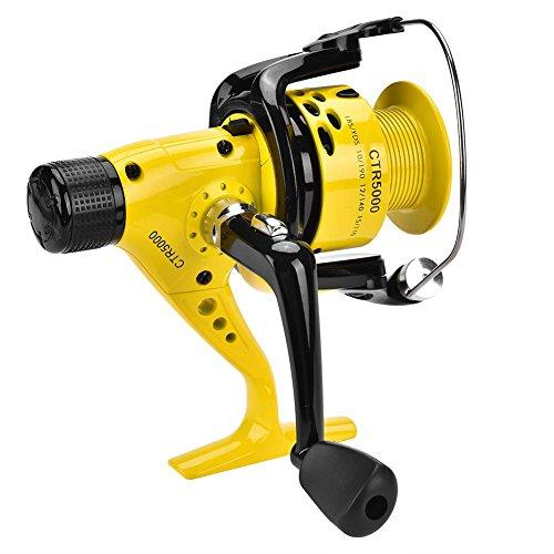 VGEBY1 Mulinello da Pesca Baitcasting, Innovazione Leggera e Resistente Mulinello da Pesca Baitcast Ruota da Pesca con Spinning d'Acqua Dolce(5000)