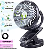 AUSEIN Mini Ventilateur Table USB Ventilateur...