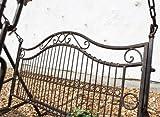 Hollywoodschaukel Metall Antik 2 Sitzer Gartenschaukel Schaukel Garten Schmiedeeisen - 5