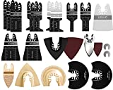 81 Pack Oscillating Saw Blades LEILUO Oscillating Tool Blades to Cut...
