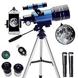 ToyerBee Telescope for Kids&Beginners, 70mm Aperture 300mm Astronomical Refractor...