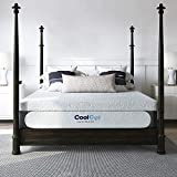 Classic Brands Cool Gel Chill Memory Foam 14-Inch Mattress with BONUS Pillow | CertiPUR-US Certified | Bed-in-a-Box, Twin