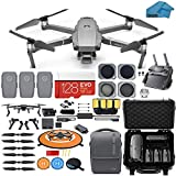 DJI Mavic 2 Pro Drone Quadcopter with Fly More Combo, Waterproof Hard Case, Hasselblad Camera, 3...