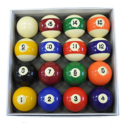 IRIS Pool Table Billiard Ball Set-5.2 cm