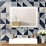 SOGOO Miroir Salle de Bain LED 80x60cm, Miroir Anti-Buée + Interrupteur Tactile +...