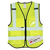 Salzmann Multi-Pocket Safety Mesh Vest | High Visibility Reflective Mesh Vest | Made with 3M Reflective Material | Meets ANSI/ISEA107