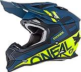 O'Neal 0200-215 Unisex-Adult Off-Road Style 2SERIES Helmet SPYDE black/hi-viz XL (