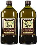 Kirkland Signature 2 x Organic Extra Virgin Olive Oil, 2 Liters