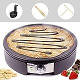 Duronic PM152 Crêpière électrique de 1500W   Plaque de cuisson...