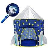 YOOBE Rocket Ship Play Tent - avec projecteur Bonus Space Torch Indoor /...