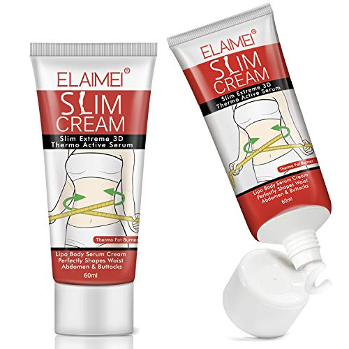 2Pack Hot Cream Cellulite and Fat Burner, Slimming Weight Loss Cream, Fat Burning Cream for Belly, Cellulite Treatment Cream for Men and Women, Body Thighs, Legs, Abdomen, Arms and Buttocks-60ML 1