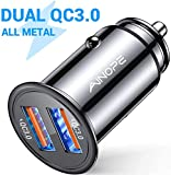 AINOPE allume cigare usb, [Dual QC3.0 Port] 36W/6A [All Metal] chargeur...