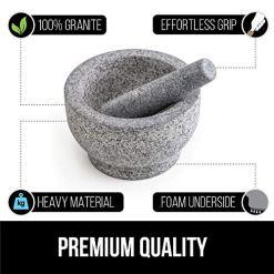 Granite Mortar and Pestle Set
