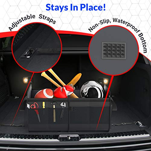 FORTEM-Car-Trunk-Organizer-Foldable-Cover-Waterproof-Non-Slip-Bottom-Straps-Cargo-Storage