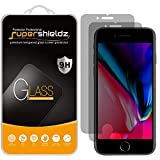 (2 Pack) Supershieldz for Apple iPhone 8 and iPhone 7 (Privacy) Anti Spy Tempered Glass Screen Protector, 0.33mm, Anti Scratch, Bubble Free