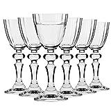 Krosno Verre Liqueur Vodka | Lot de 6 | 40 ML / 40 CL | Collection...