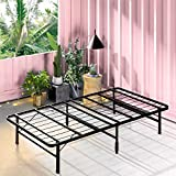 ZINUS SmartBase Zero Assembly Mattress Foundation / 14 Inch Metal Platform Bed Frame / No Box Spring Needed / Sturdy Steel Frame / Underbed Storage, Twin