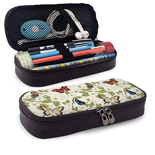 Astuccio Colore farfalla arte bellissimo modello a tema mini scuola astuccio portamonete custodia ufficio penna scatola...