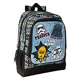 Star Wars 'Astro' - Mochila Safta Escolar, 320x140x420mm