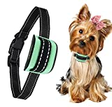 MASBRIL Dog Bark Collar - Upgrade 2019 Safe No Bark Control Device for Tiny Small Medium Dog-Stop Barking by Sound and Vibration- No Shock Human Way-Best Choice for Dog Lovers
