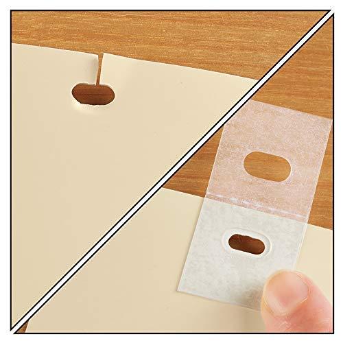 Gadget Beyond 25 Sets of Clear Vertical Blind Repair Tabs